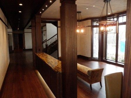 Living area- corridor