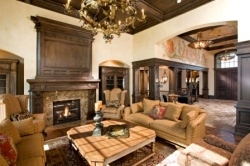 Luxury family room